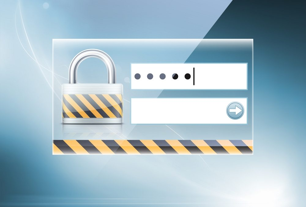 image of a security lock