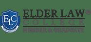 Elder Law College member and graduate badge
